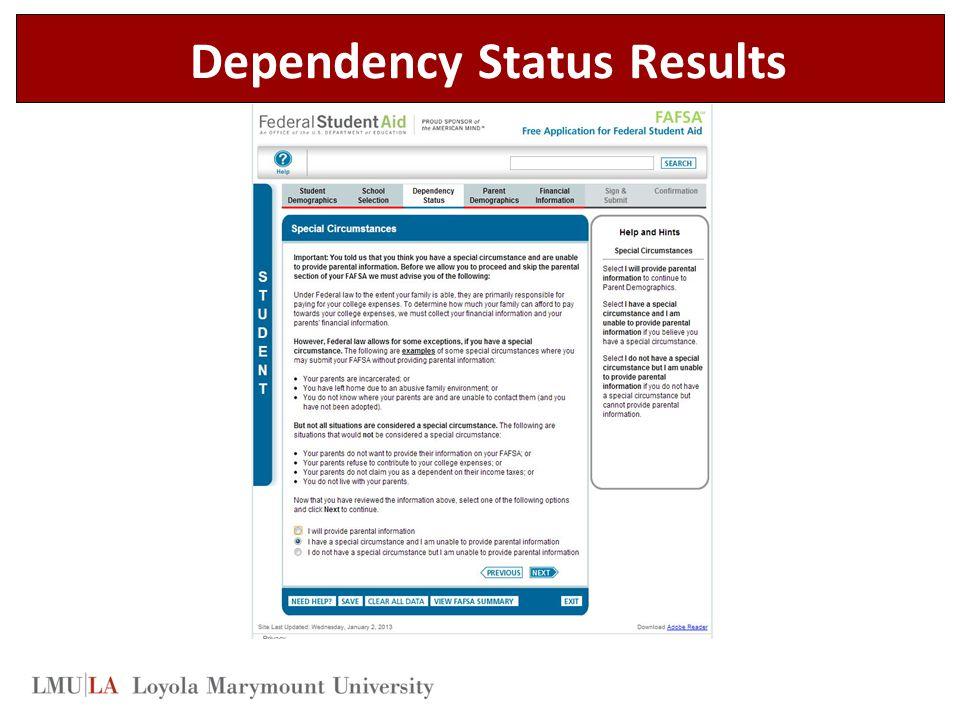 Dependency Status Results