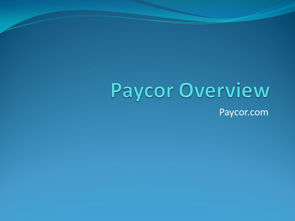 Benefits of Paycor Agency news and announcements Access to Time on Demand – system where you view your punches, benefit balances, and request time off Change personal information – address, phone number, etc View paycheck stubs View trainings – expiration dates and upcoming classes if you need to recertify View position openings