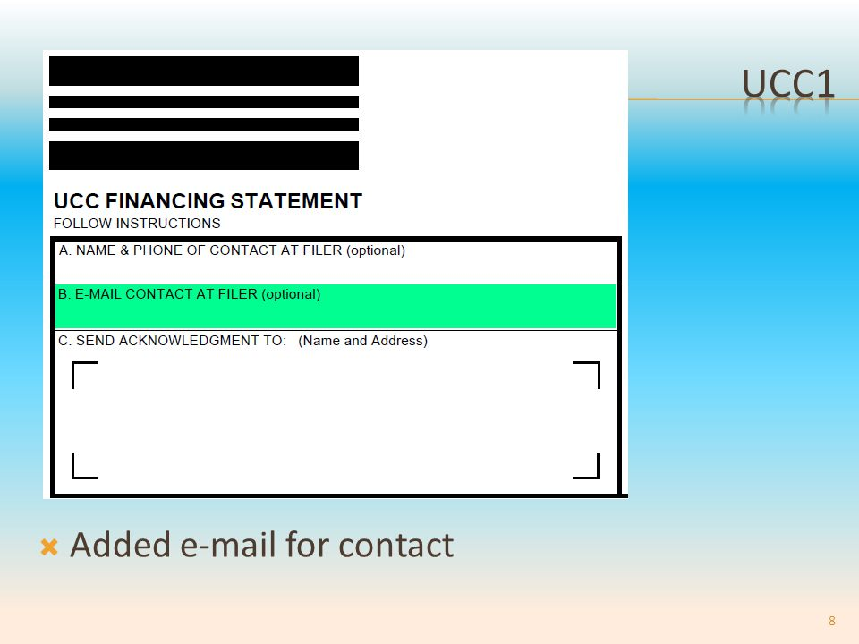 UCC3AP 21-23.Additional Debtor's name.