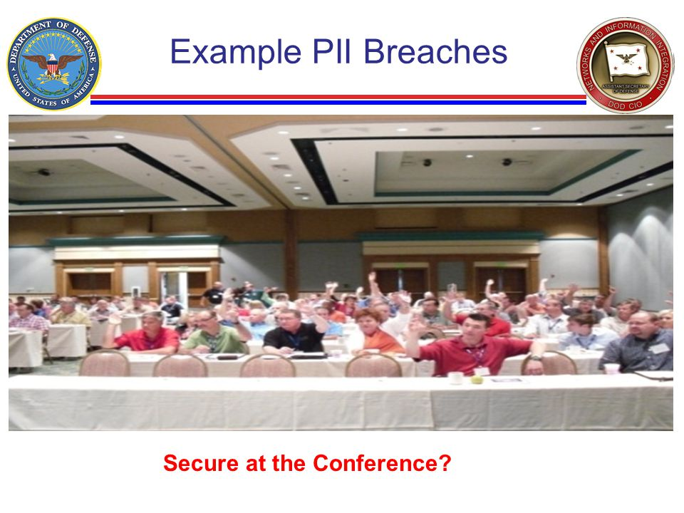 Example PII Breaches Secure at the Conference