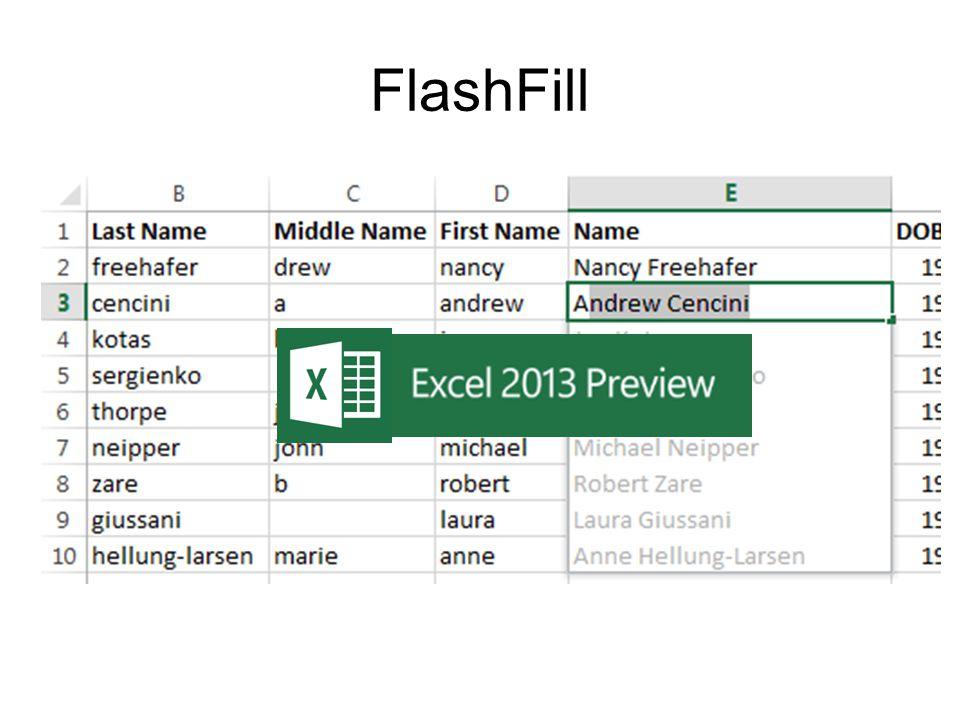 FlashFill