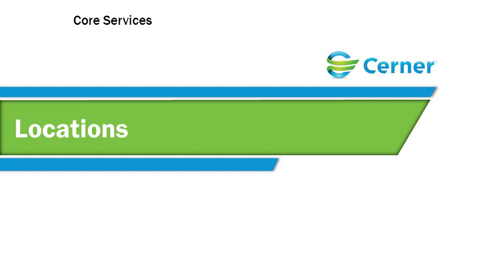 Locations Core Services