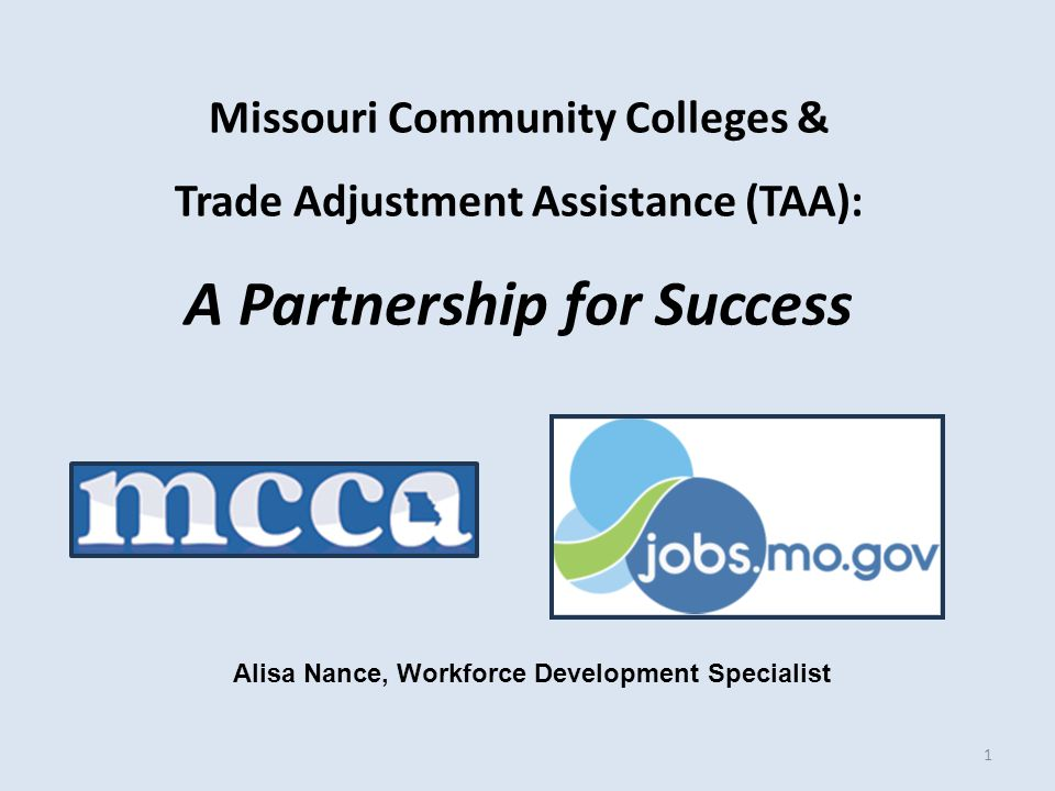 TRA-6 Form Trade Act version & Trainee ID completed by Career Center Trade staff.