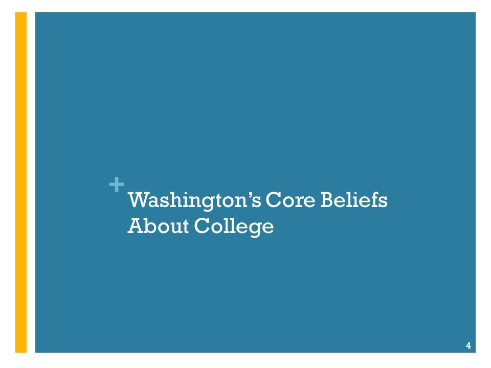 + Belief #1: College is valuable.Belief #2: Where you go matters.