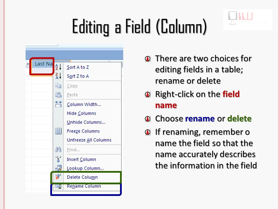 Create a Table from External Data (Excel) Click the External Data tab Choose Excel (Data will be imported from Excel)