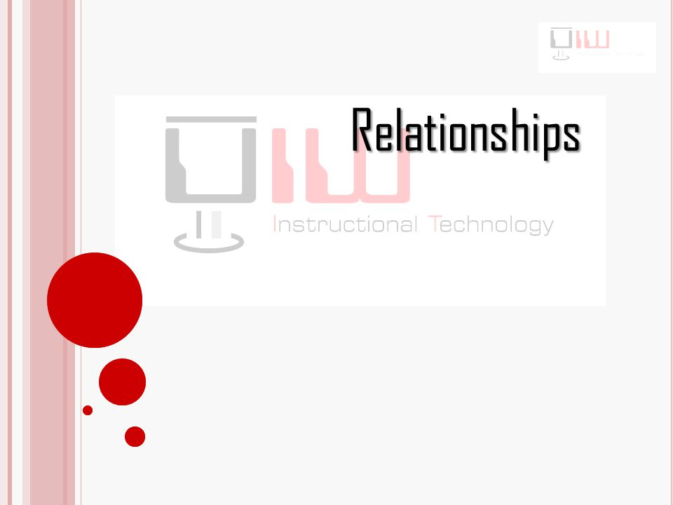 Types of Relationships One to One: An association between two tables in which one record a table relates to only one record in the other table.
