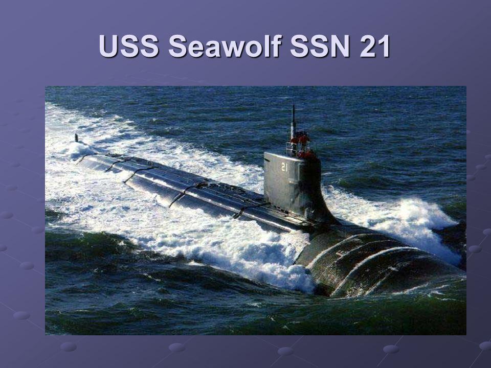 USS Seawolf SSN 21