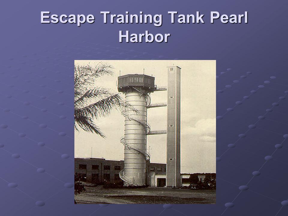 Escape Training Tank Pearl Harbor