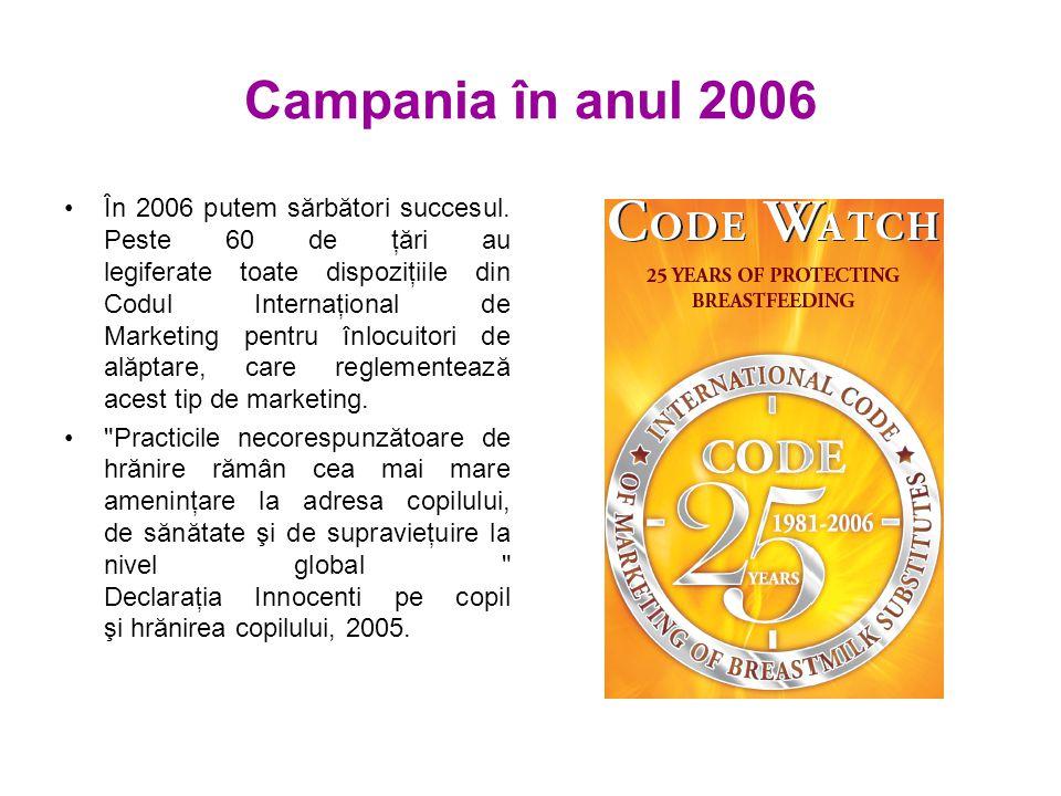 Campania în anul 2006 În 2006 putem sărbători succesul.