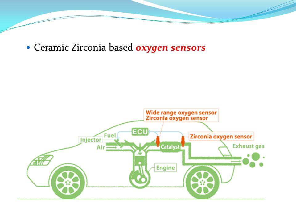 Ceramic Zirconia based oxygen sensors