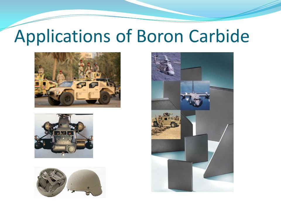 Applications of Boron Carbide