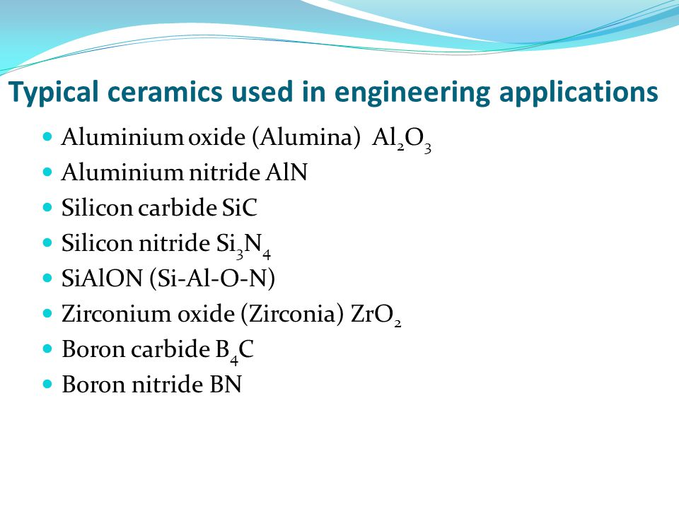 Some general properties of ceramics Density In general the density of ceramics is between metals and polymers.