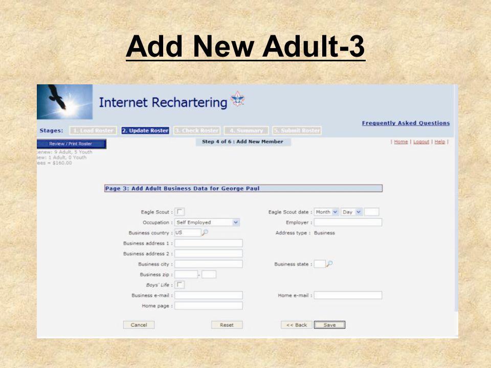 Add New Adult-3