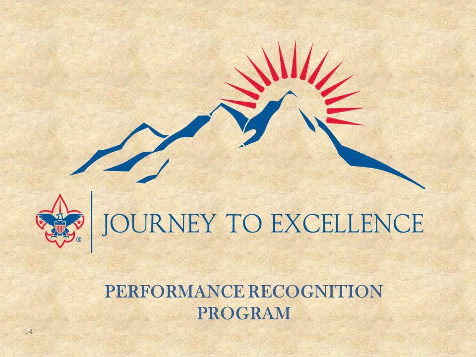 54 PERFORMANCE RECOGNITION PROGRAM