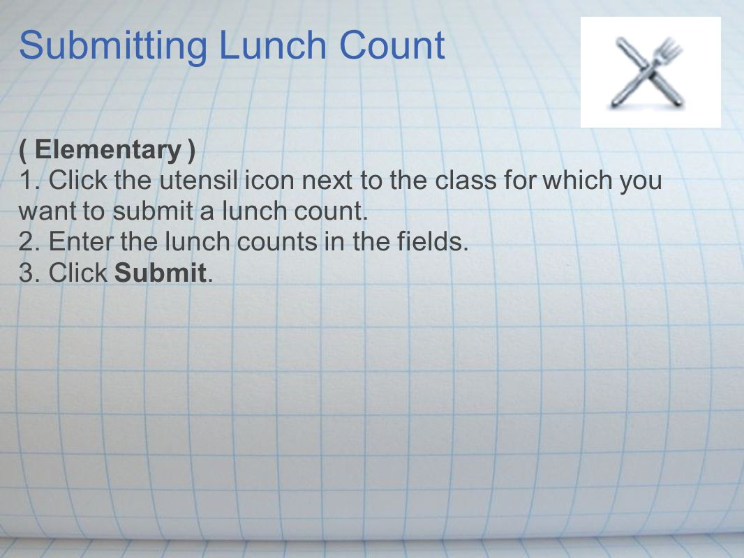 Accessing Student Information 1.Click the backpack icon next to the class you want to view.