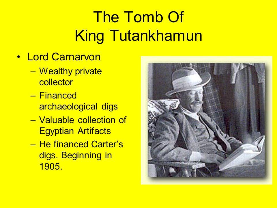 THE TOMB OF KING TUTANKHAMUN Valley of the Kings: –Location: Upper Egypt –Burial spot for New Kingdom Pharaohs.