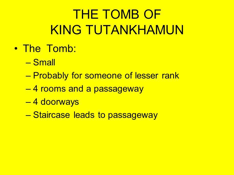 TUTS TOMB Treasury –Canopic Shrine of Tutankhamen.