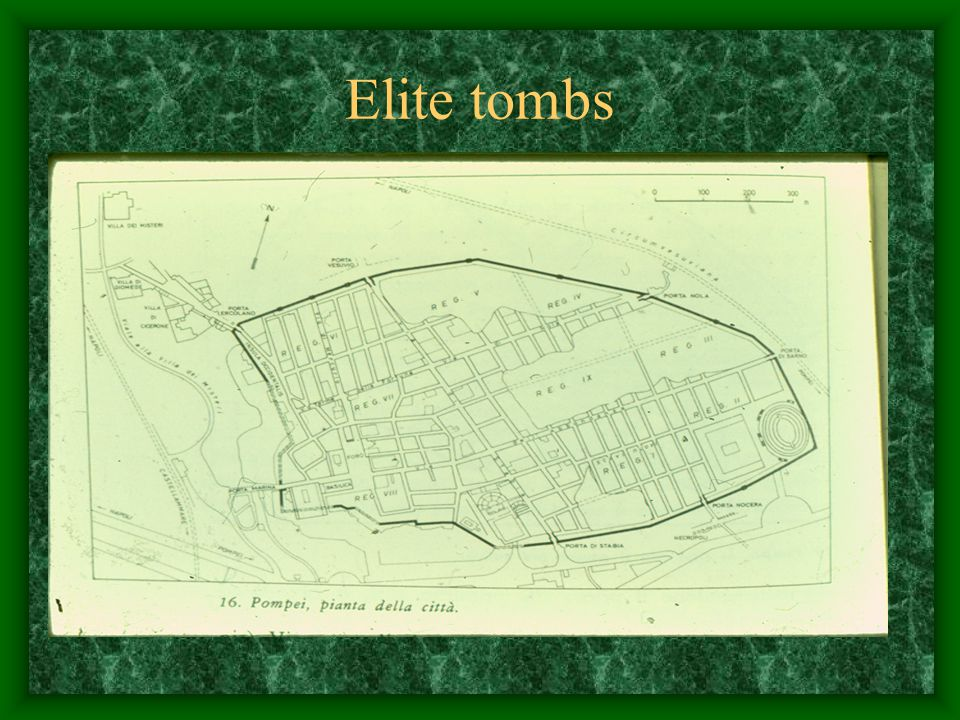 Elite tombs