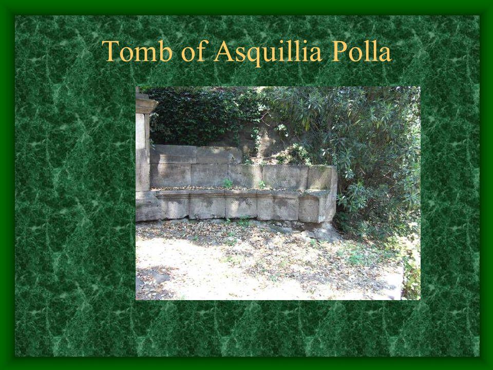 Tomb of Asquillia Polla