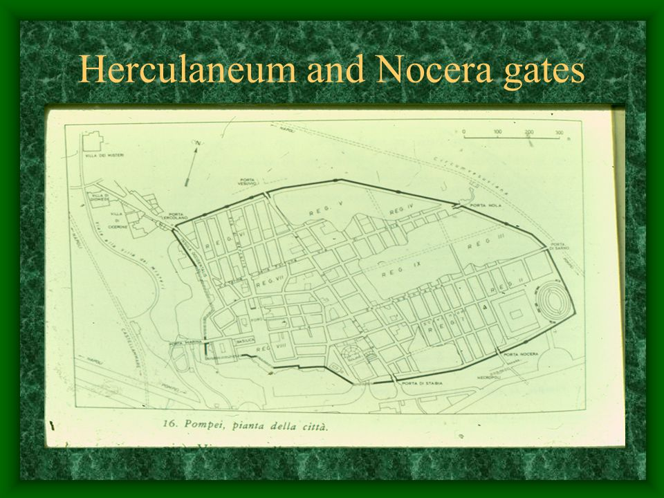 Herculaneum and Nocera gates