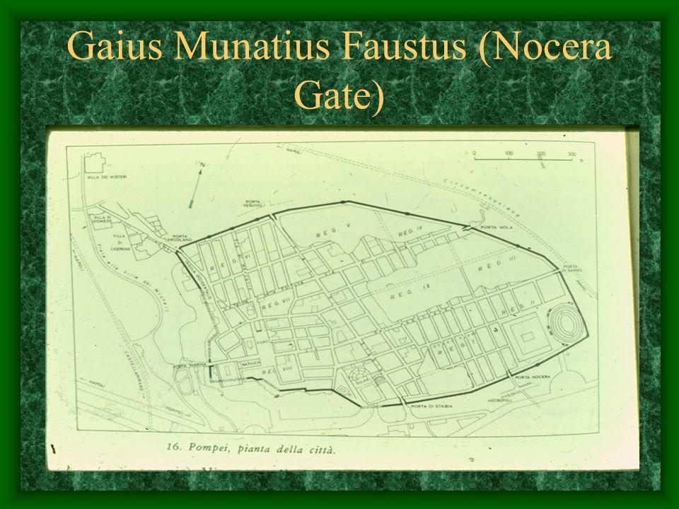 Gaius Munatius Faustus (Nocera Gate)