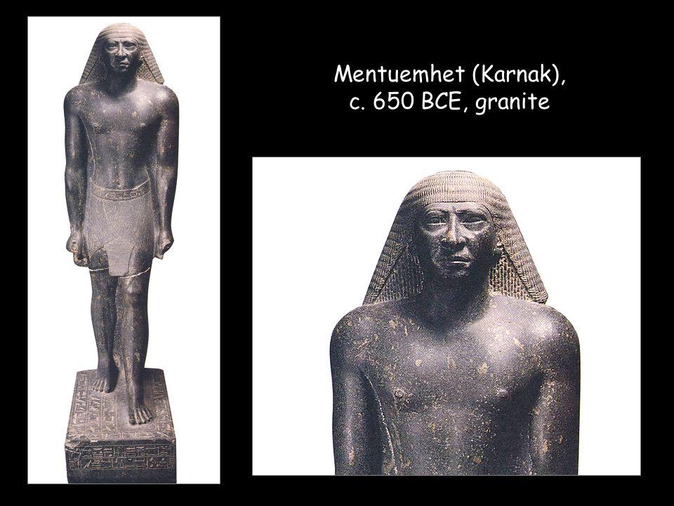 Mentuemhet (Karnak), c. 650 BCE, granite
