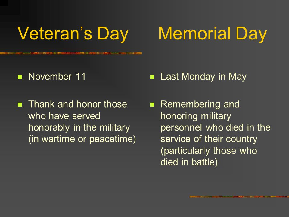 1971-1975 Federal observance of Veteran's Day is held on the fourth Monday in October …in all states except 2 (Miss.