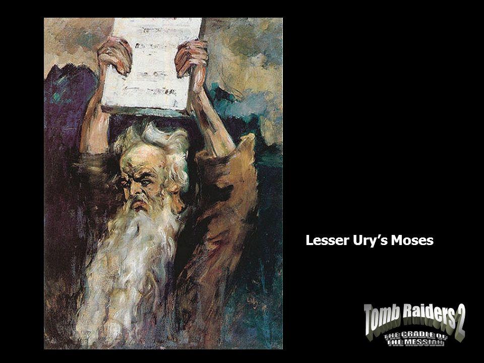 Lesser Ury's Moses