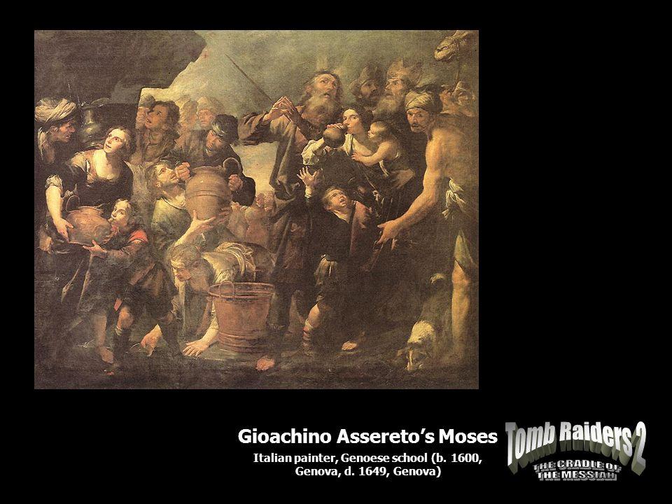 Gioachino Assereto's Moses Italian painter, Genoese school (b. 1600, Genova, d. 1649, Genova)