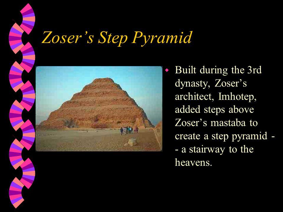 Mastabas Shaft Tomb Chapel