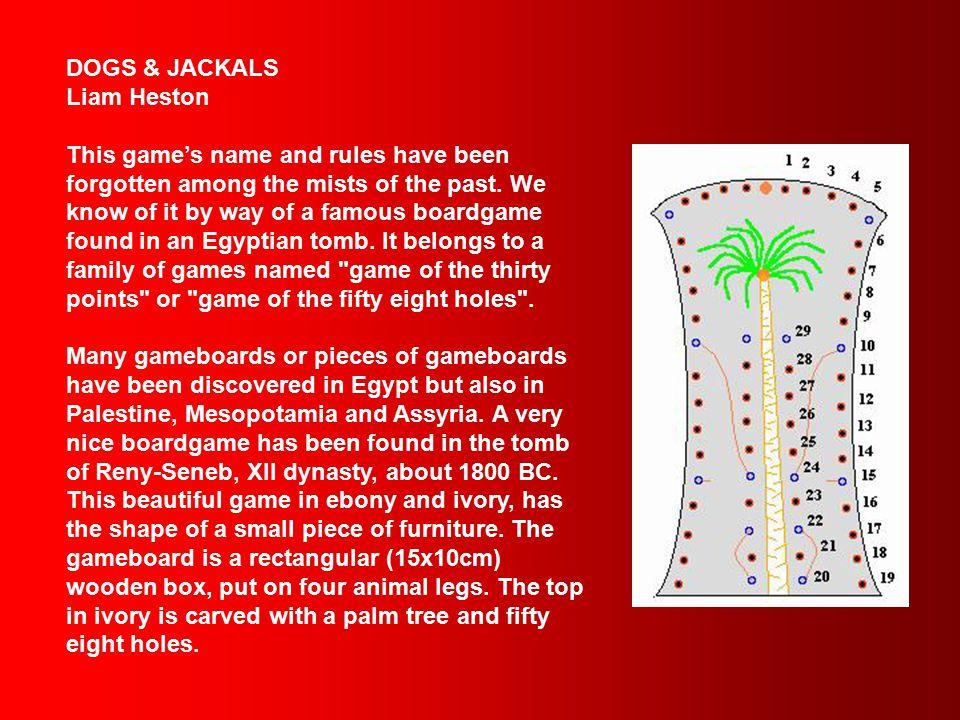 Liam Heston Dogs & Jackals - Egypt