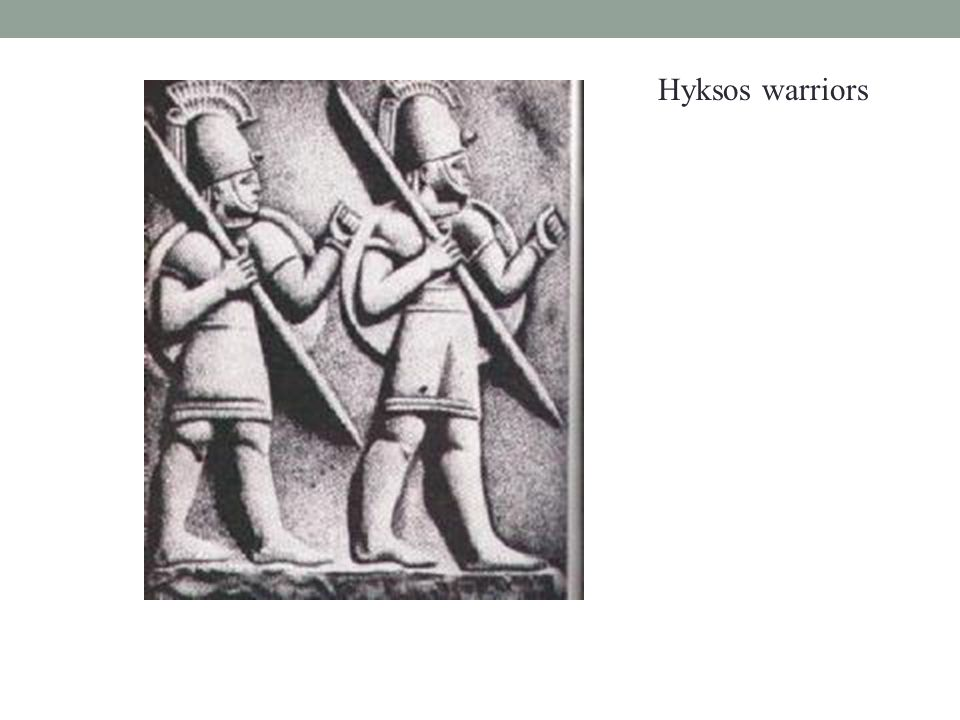 Hyksos warriors