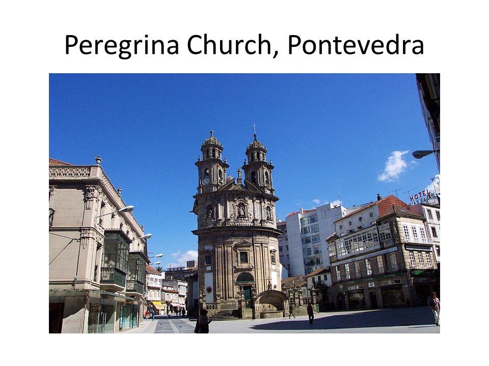 Peregrina Church, Pontevedra