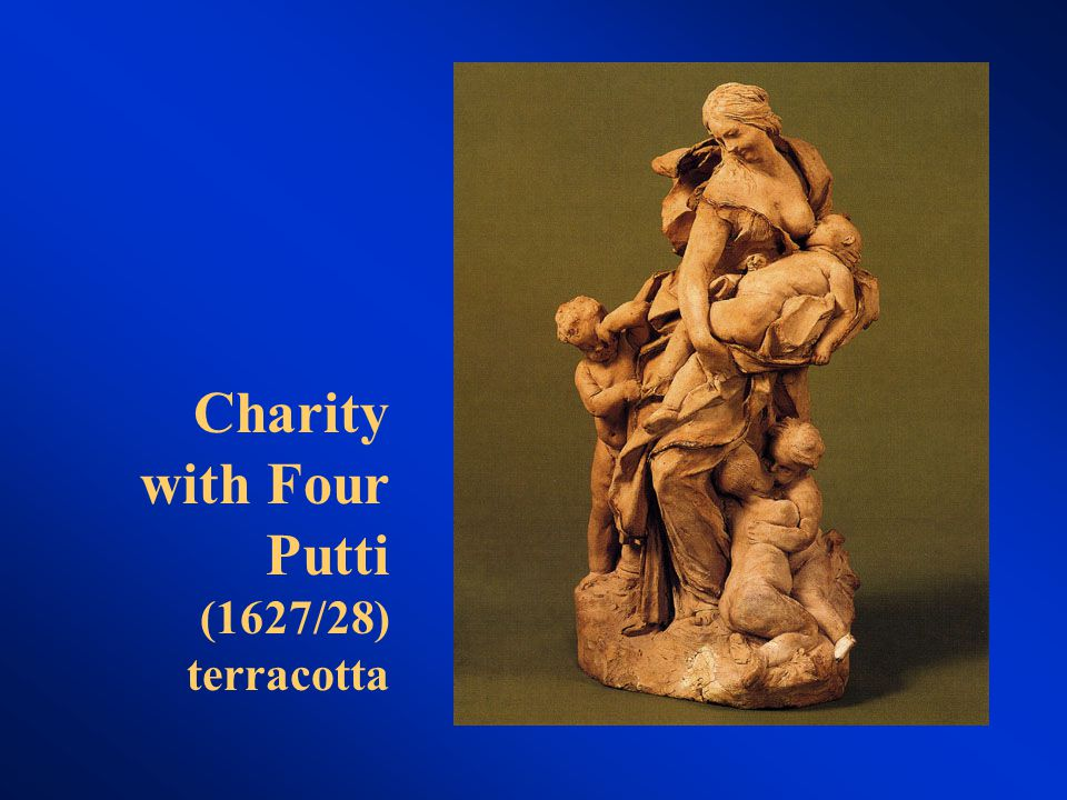 Charity with Four Putti (1627/28) terracotta