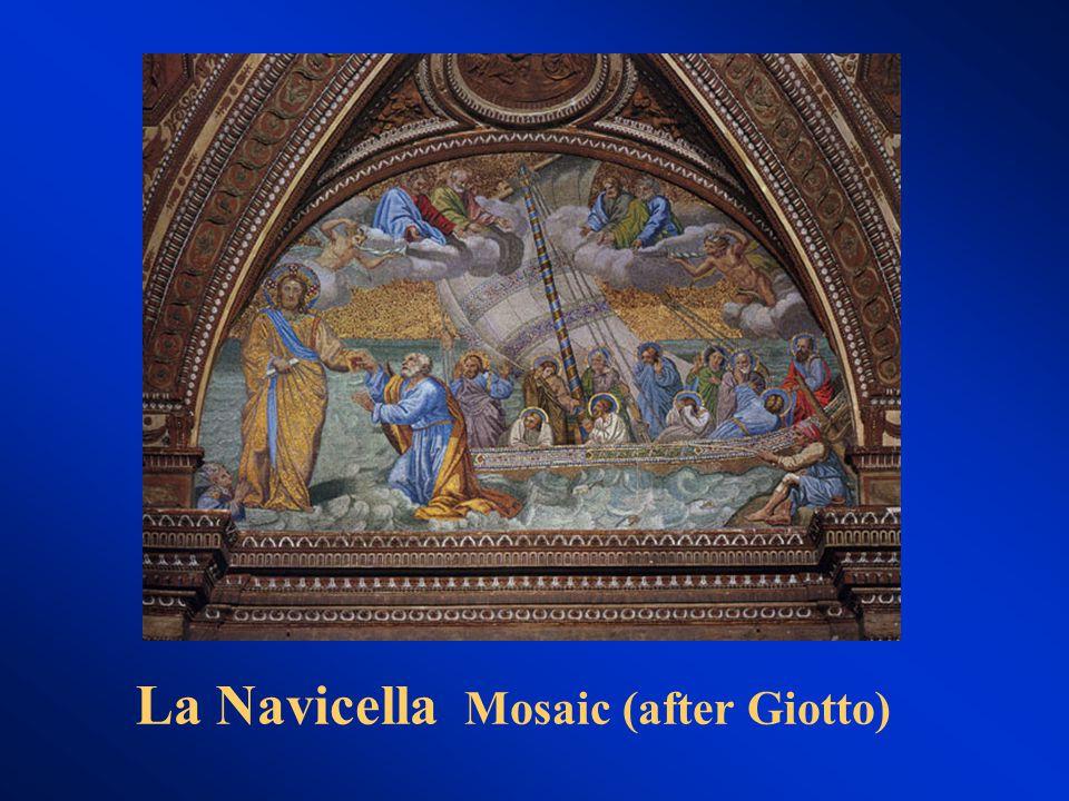 La Navicella Mosaic (after Giotto)