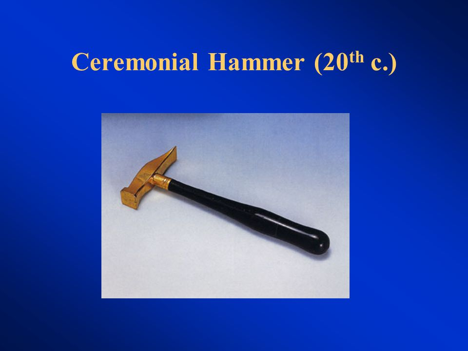 Ceremonial Hammer (20 th c.)