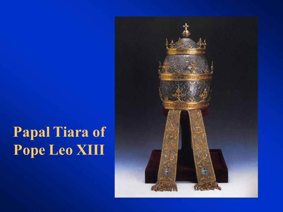 Papal Tiara of Pope Leo XIII