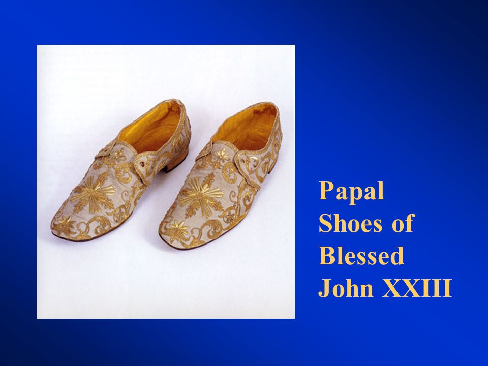 Papal Shoes of Blessed John XXIII
