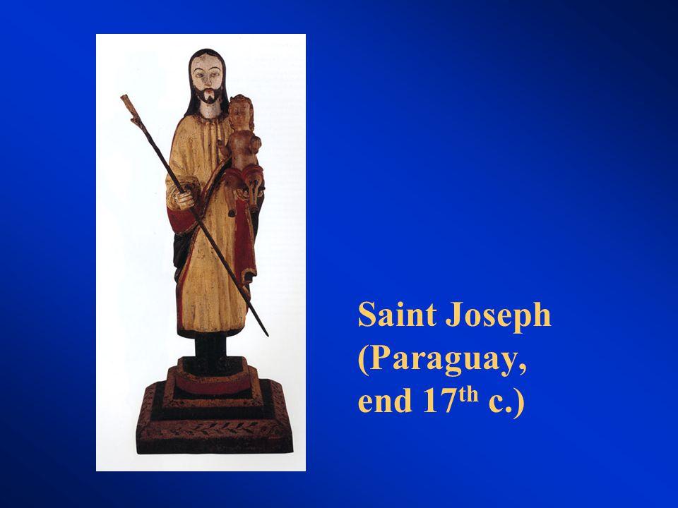 Saint Joseph (Paraguay, end 17 th c.)