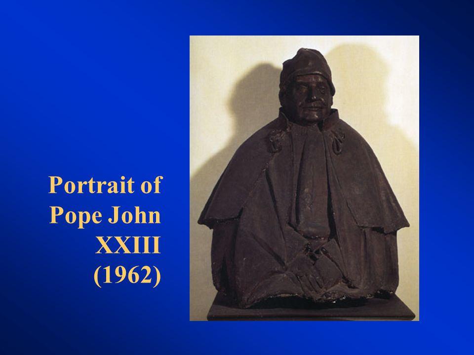 Portrait of Pope John XXIII (1962)