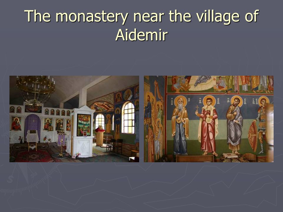 The monastery near the village of Aidemir