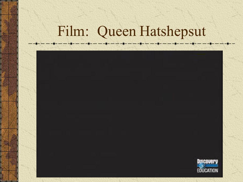 Film: Queen Hatshepsut