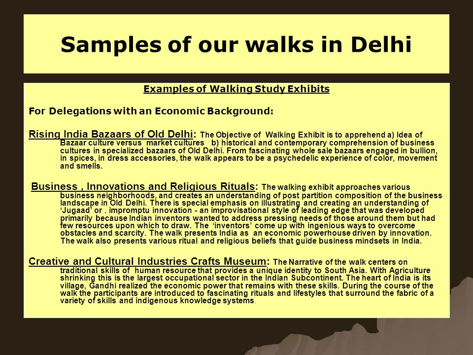 Walking Exhibits for Delegations with Background of Politics, International Relations, Historical Research, Sociological Understanding and Religious Interests:   Advent of Political Islam: A walk around the World Heritage Site of Qutub Minar.
