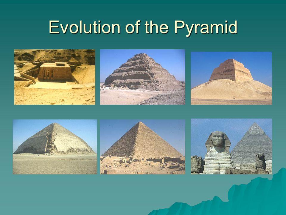 Evolution of the Pyramid
