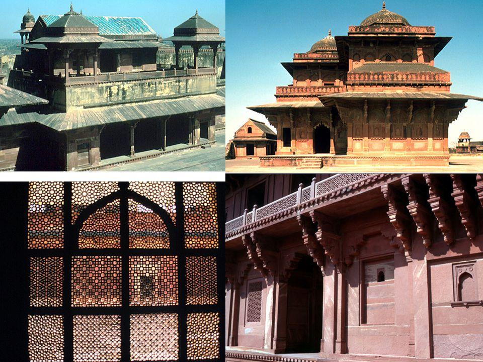 Tomb of Akbar, Sikandra, 1613— mughal