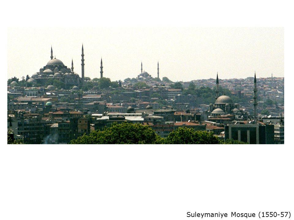Suleymaniye Mosque (1550-57)