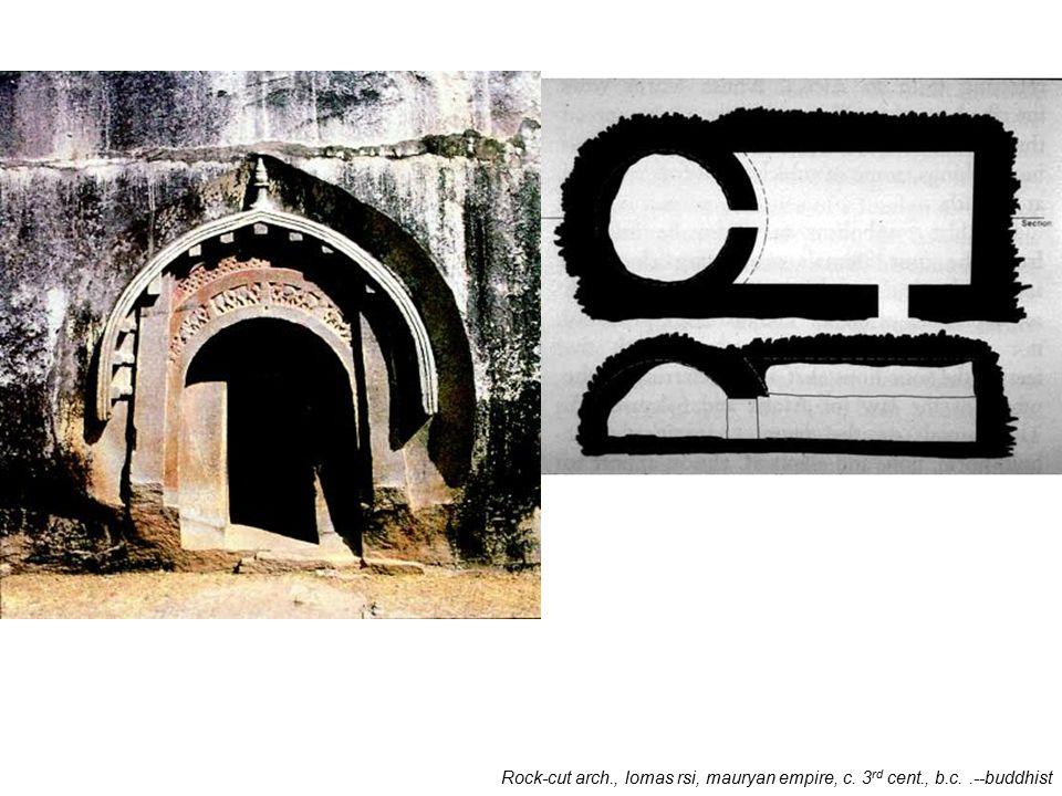 Mahastupa at sanchi, mauryan empire, c. 1 st cent., b.c.--buddhist