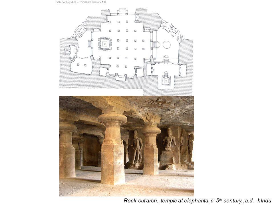 Ratha at mamallapuram, chalukyan, c. 600., a.d.--hindu.
