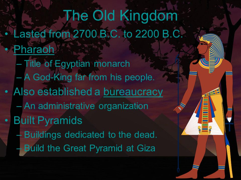 The Great Pyramid at Giza Built for King Khufu in 2540 B.C.Built for King Khufu in 2540 B.C.