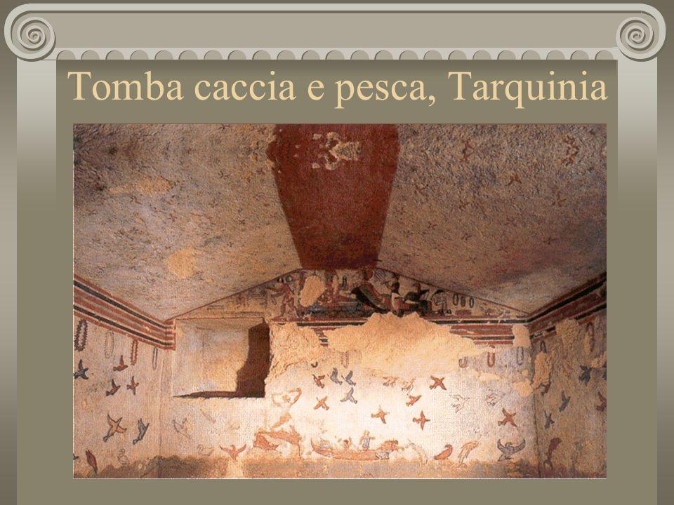Tomba caccia e pesca, Tarquinia